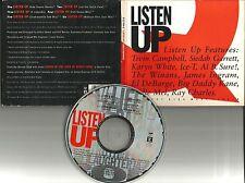 RAY CHARLES AL B. SURE Listen Up 6 MIXES PROMO CD dj B Tevin Campbell El Debarge