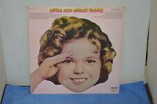 LITTLE MISS SHIRLEY TEMPLE VINTAGE VINYL RECORD ALBUM LP33 SPC-3177