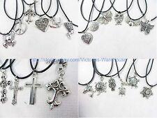20 pieces hippie pendant necklaces wholesale fashion jewelry bulk lot