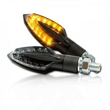 LED Mini Blinker Vinci schwarz wie Arrow von Yamaha LED signals/indicators