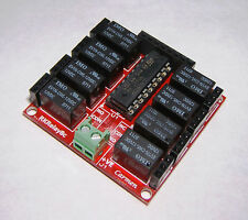 Ultra Compact 8 Channel Relay Module Shield - Great for Arduino & Raspberry PI