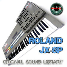from Roland Jx8P - theKing of Analog - Large original Wave/Kontakt Sound Library