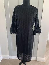 Sosandar Black ladies Shift dress, UK 12, BNWT