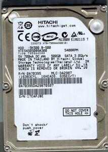 HTE545050B9A300 Hitachi MLC: DA2987 P/N: 0A70395 500GB