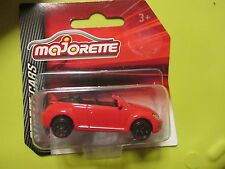 MAJORETTE METAL STREET CARS NEW SEALED VW CABRIOLET RED