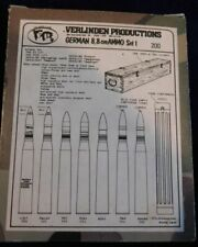 VERLINDEN #200 German 8,8 cm AMMO SET 1 New in Box