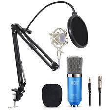 TONOR Pro Condenser Microphone Audio Studio Recording Mic W/ Stand Shock Mount