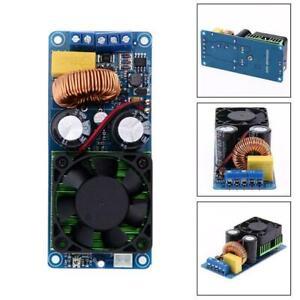 IRS2092S 500W Mono Channel Digital Class D HIFI Power W/ Amplifier Board Q1D9