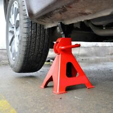 2PCS/4PCS 3T Car Truck Jack Stand Ratchet Height Adjustable Lift Hoist Steel