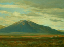 NEW MEXICO, SOUTHWEST Art Landscape Print from Oil Painting by P. Tarlow