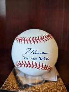 Tom Glavine 300 Wins Signed Autographed OML Baseball HOF Braves MLB/MM Authentic