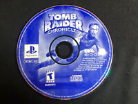 Tomb Raider: Chronicles (PlayStation, PS1) DISC ONLY ~ Tested & Working, Good!