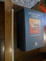 libro : Letteratura italiana. Vol. 2: Produzione e consumo.ed. einaudi