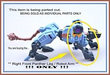 Transformers Energon _ Command Ravage _ Right Front Panther Leg / Robot Arm