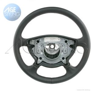 Mercedes-Benz E320 E500 E550 E63 G500 G55 Black Leather Steering Wheel 2002-2006