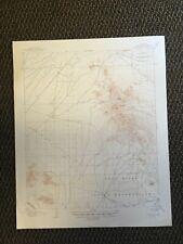 Vintage USGS Camelback Arizona 1906 Topographic Map 1948