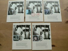 National Postal Museum Postcards x 4,  Night Mail, Film, 1985, FDI Front
