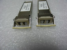 2x GENUINE JUNIPER NETWORKS 10Gb BASE-SR 740-014289 REV 03 850NM