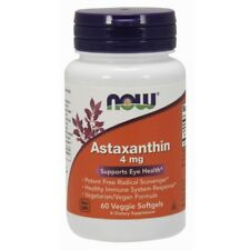 Now Foods Astaxanthin Cellular Protection 4mg - 60 Softgels
