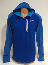 Nike Men's XL Therma Sphere Element Hybrid Half-Zip Running Hoodie 859222 405