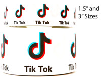 "3"" OR 1.5"" GROSGRAIN MUSIC FUN ON WHITE 3 INCH 1,5 INCH 1,3,5 YD"
