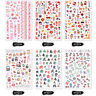 Nail Sticker Cute MahjongSpring Festival Nail Art Stickers Nail Decors Set _dr