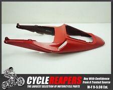 C154 2005 2006 05 06 Honda CBR 600RR Red Mid Center Tail Section Rear Fairing