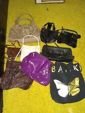 Wholesale joblot 9 ladies bags