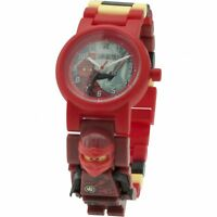 LEGO KAI NINJAGO 8020899 Minifigure Link Buildable Wrist Watch Kids Toy Gift Set