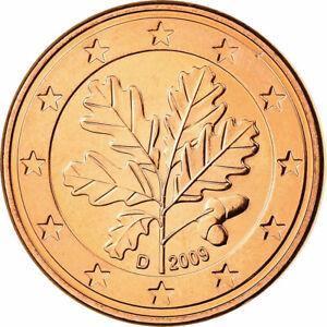 [#699818] République fédérale allemande, 5 Euro Cent, 2009, FDC, Copper Plated S