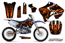 Yamaha YZ125 YZ250 Dirt Bike Graphic Sticker Kit Decal Wrap MX 96-01 NIGHTWOLF O