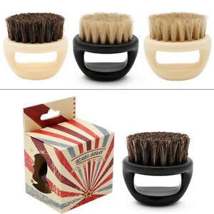 Fashion Hair Men Shaving Brush Barber Salon Men Face Beard Cleaning Shaving