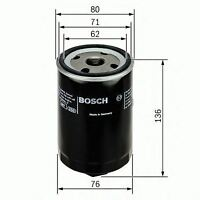 BOSCH ENGINE OIL FILTER OE QUALITY REPLACEMENT 0451103280