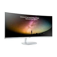 Samsung C34F791 34 inch LED Curved Monitor - 3440 x 1440, 4ms, Speakers, HDMI
