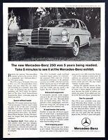 "1966 Mercedes-Benz 250 Sedan photo ""5 Years in Development"" vintage print ad"