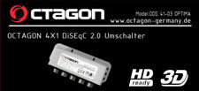 Octagon Optima 4 In 1 Out DiSEqC Switch Weather Cover & 3 Year Warranty
