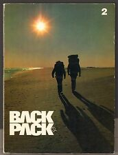 BACKPACKER 2 - MAGAZINE - SUMMER 1973 - SLEEPING BAGS ISSUE - HIKING - V. 1 No 2