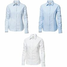 Cotton Long Sleeve Collared Tops & Shirts for Women