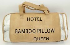 Hotel Comfort Bamboo Covered Memory Foam Pillow, Queen - NEW