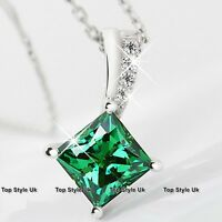 BLACK FRIDAY DEALS Peridot Diamond Necklace Xmas Gifts Presents for Her Wife 3B