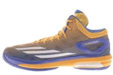Mens Large Size Adidas Crazylight Boost Blue Yellow Basketball Shoes 19 M..488A