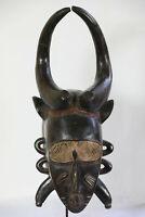 AP4 Senufo Djimini alte Maske Afrika / Masque Senoufo ancien / Old tribal mask