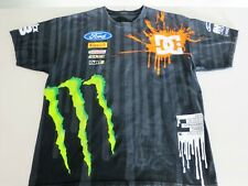 DC Shoes X Ken Block 43 Racing Mens T Shirt Monster Ford Castrol Edge Rare