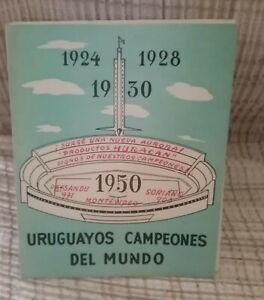 Collectible Brochure About the 4 historic teams of Uruguayan football
