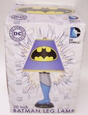 """Batman Leg Lamp w/Shade 20"""" Tall Superhero NECA DC Comics NIB"""
