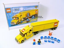 LEGO CITY TRUCK SET 3221 GIFT BOX BOTH MINIFIGURES 100% COMPLETE GUARANTEE
