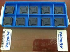Valenite #05931 SNEF120408EL QC SM307 Indexable Carbide Milling Inserts Qty. 10