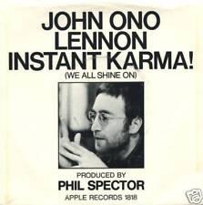 "John Ono Lennon - Instant Karma - Apple 7"" 45 PS"