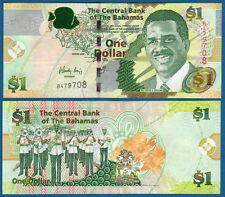 BAHAMAS 1 Dollar  2008  UNC  P. 71