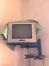 Televisore GOODMANS 21 Pollici + LETTORE DVD/DviX NORTEK + Space System MELICONI